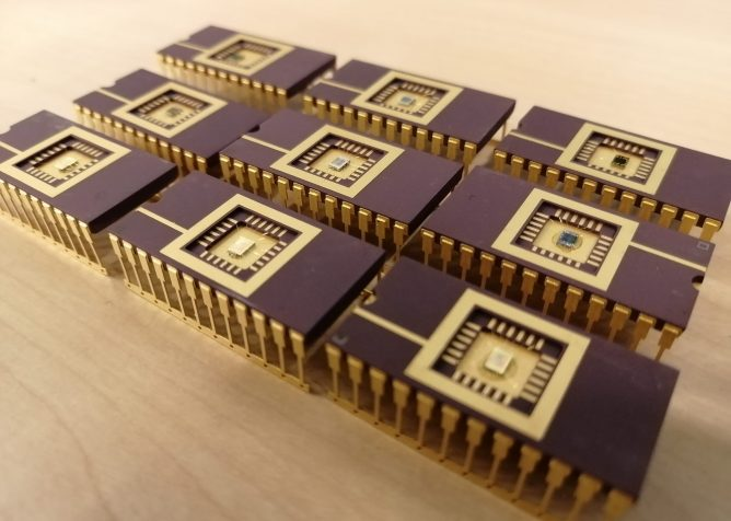 spectral sensor - our technology chip carriers